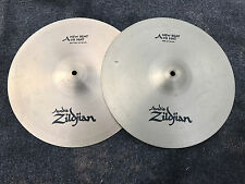 "Zildjian A New Beat 14"" Hihat Drum Cymbals hi hat"