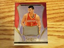2013-14 Panini Select Swatches Jeremy Lin Jersey Houston Rockets