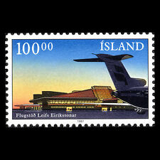 Iceland 1987 - New Terminal in Keflavik Airport Aviation - Sc 638 MNH