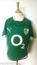 Ireland 2010-2011 Official Puma Rugby Union Jersey (Youths 10-11 Years)