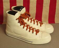 Vintage 1960s Tuffs Canvas High Top Basketball Sneakers Shoes 7.5 New Old Stock!