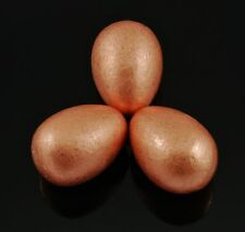 COPPER -1 Small Polished Egg 63+ grams ~1.18 inches w/ Healing Property Card