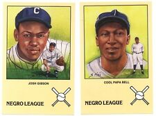 Negro League Baseball Postcard Set Susan Rini Artwork: Gibson Bell Irvin