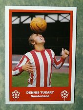 SUNDERLAND - DENNIS TUEART - RETRO FATHERS DAY 'FOOTBALL CARD' / GIFT TAG
