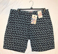 ARIZONA Jeans Co Classic Fit Flex Shorts Navy Blue Surfer Prep Vacation 31 NWT