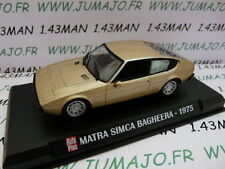 Car 1/43 IXO AUTO PLUS : SIMCA Matra Bagheera 1975