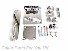 Telecaster Full Body Kit di hardware cromato moderno single coil ponte nuovo