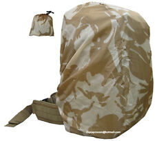Military Army Combat Surplus Rucksack Cover Pack Waterproof Desert Camo Sand New