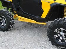 Super ATV WHITE- Nerf Bars Rock Sliders Can-Am Commander 800R & 1000 2010-2014