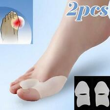 2PCS Silicone Gel Bunion Toe Straightener Shaper Separator Alignment Pain Relief