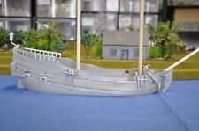 Miniature Unpainted Resin Merchant Ship Terrain Ainsty Dwarven Forge D&D