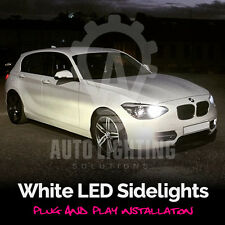 BMW 1 Series E87 2003 - 2012 Xenon White LED Side Light sidelights Upgrade Bulbs