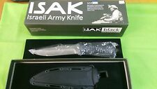 idf knife ISAK combat knife swat team yamam very rare (no more production) wow