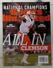 No Label SPORTS Illustrated CLEMSON TIGERS Special Edition NATIONAL CHAMPIONS
