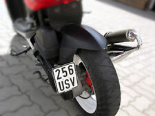 License plate holder for Scooter Moped 50 cc Side Mounting Tuning