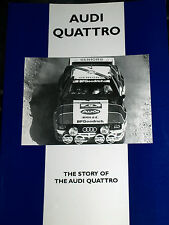 AUDI Quattro LA STORIA road e rally CP PRESS DA AUTOMOBILISMO-Man