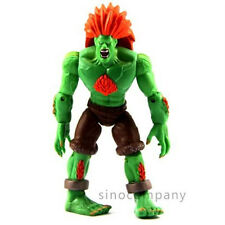 "Hot Boys Gift JAZWARES STREET FIGHTER BLANKA Movie TV Toy 4"" ACTION FIGURE F110"