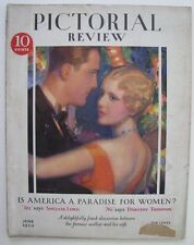 1929 PICTORIAL REVIEW COMPLETE  MAGAZINE 110 PGS DOLLY DINGLE PAPER DOLLS