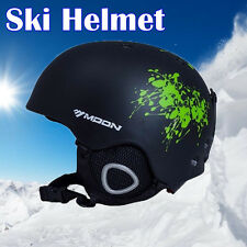 MOON Ski Helmet Integrally-molded Skiing Helmet Fr Kids Safety Skateboard Helmet