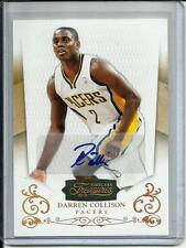 Darren Collison 10/11 Timeless Treasures Gold Autograph #5/10