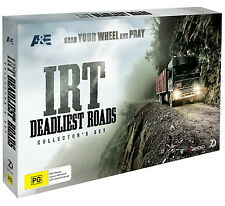 ICE ROAD TRUCKERS DEADLIEST ROADS COLLECTOR'S SET BRAND NEW SEALED R4 DVD IRT