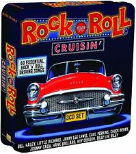 Rock 'N' Roll Cruisin' 3-CD Metal Box NEW SEALED Bill Haley/Little Richard+