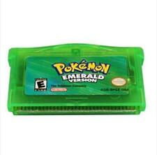 NEW Pokemon EmeRald Game Card For Nintendo Advance for GBA/NDS/NDSL/GBM/GBA SP