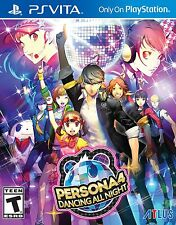 Persona 4: Dancing All Night [Playstation Vita Sony PSV RPG Dance Music] NEW