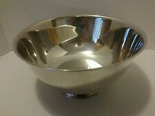 Paul Revere reproduction Wm. A. Rogers Oneida Silversmiths Bowl
