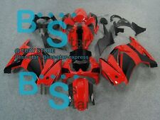 Red Black INJECTION Fairing + Tank Cover Set Ninja EX250 250R 2008-2012 104 B4