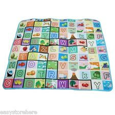 Double-sides Soft Game Baby Kids Play Mat Floor Rug Picnic Cushion Crawling Mat