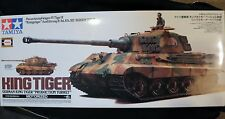 TAMIYA 1/16 KING TIGER MOTORIZED PANZERKAMPFWAGEN IV TIGER II- SEE DESCRIPTION