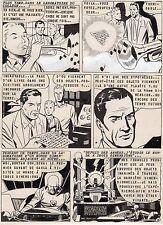 TROMPETTE MAGIQUE  PLANCHE DE MONTAGE AVENTURES FICTION ARTIMA 1959 PAGE 3