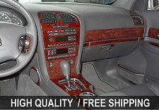 Fits Cadillac CTS 03-07 INTERIOR WOOD GRAIN DASHBOARD DASH KIT TRIM PARTS TYT45