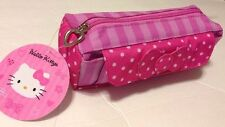 "8"" Hello Kitty Bow-Tie Pen Case/Cosmetic Bag by Sanrio  Pink."