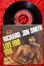 Single richard Jon smith: Live for you