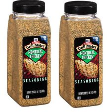 McCormick Grill-Mates Montreal Chicken Seasoning Mix Pack of TWO 23 oz Shakers