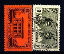 MARTINIQUE - MARTINICA - 1933/1938 - Motivi indigeni