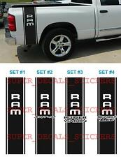 DECALS STICKERS FOR Ram SRT-10 POWER WAGON RUMBLE BEE Bed STRIPE KIT Truck