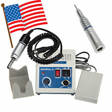 USA!Dental Lab Marathon Electric Micro Motor Low Speed Straight Handpiece E-type
