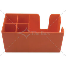 Bar caddy porte serviettes pailles bar -orange matériel barman