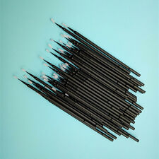 Dental Disposable Micro Applicator Brush Bendable Sticks Black Small Tooth new