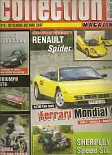 AUTO MOTO COLLECTION 8 R25 V6 TURBO BACCARA TRIUMPH GT6 RENAULT SPORT SPIDER