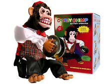 Charley Chimp, Cymbal-Playing Monkey, New, Free Shipping