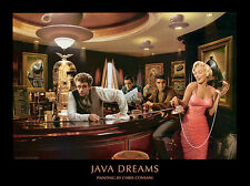 Chris Consani Java Dreams Cafe Movie Stars Print Poster
