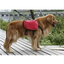 Outdoor Hiking Backpack Rucksack Saddle Back Harness Bag Pack For Pet Dog LF8Q