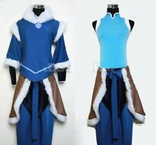 Free shipping Custom made Avatar The Legend of Korra Korra Cosplay Costume