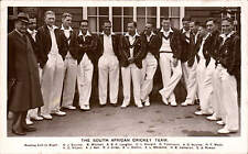 Cricket. South Africe Team 1935. Turog Bread Advert. NOT A POSTCARD.