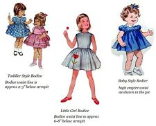 Adult Baby Sissy Little Extra's ~ Toddler Bodice Upgrade to Binkies_n_Bows Dress