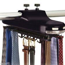 Tie Belt Rack Necktie Ties Hanger Closet Holder Storage Organizer Revolving